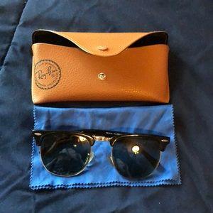 Ray-ban Clubmaster sunglasses w/ prescription